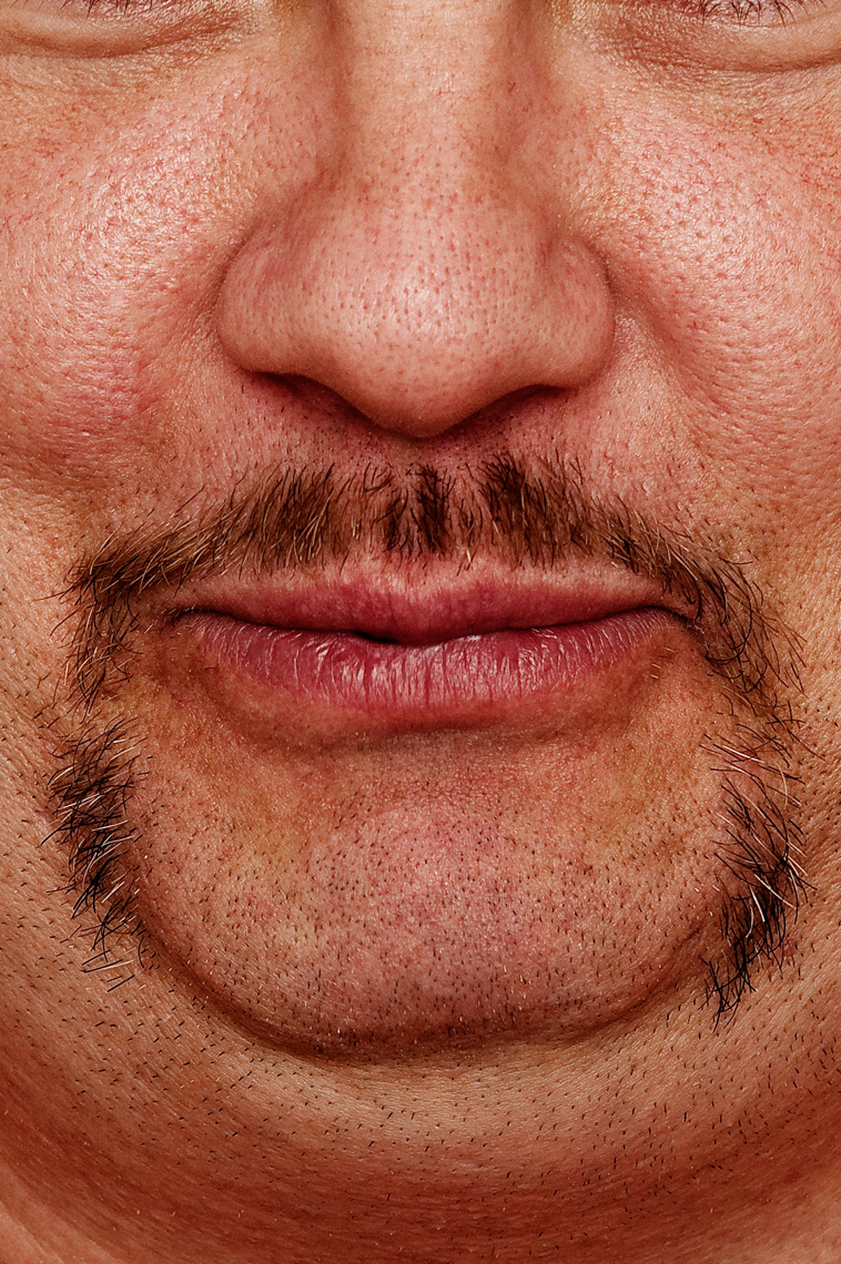 Advertising Editorial photo of moustache