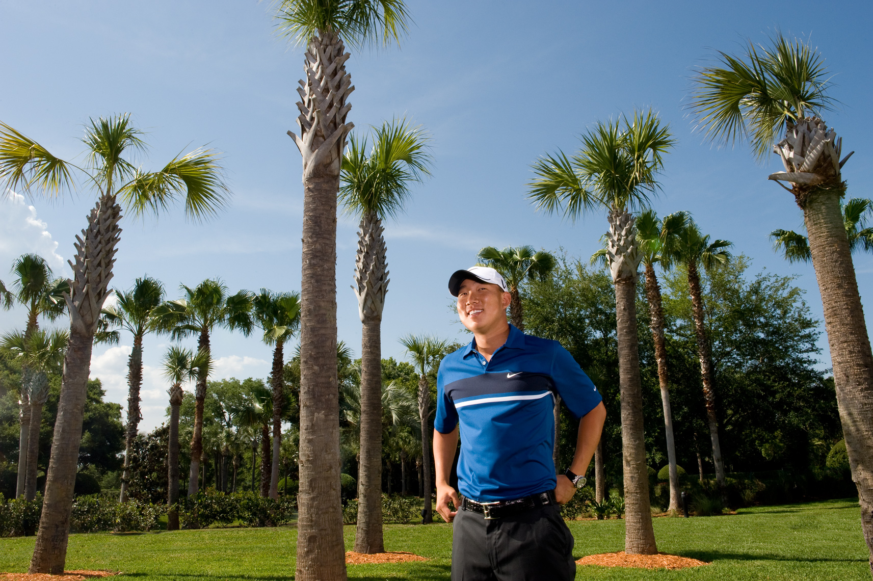 Anthony Kim Advertising Editorial Portrait The Players, PGA