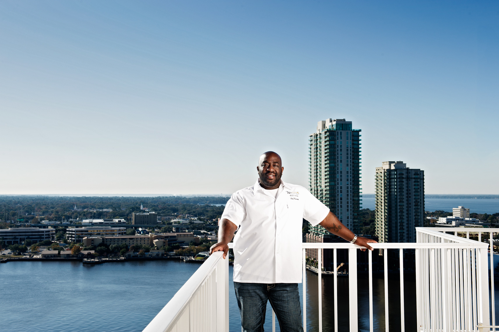 Kenny Gilbert Top Chef Jacksonville, Florida Editorial, Advertising and Corporate Location Photography Portrait
