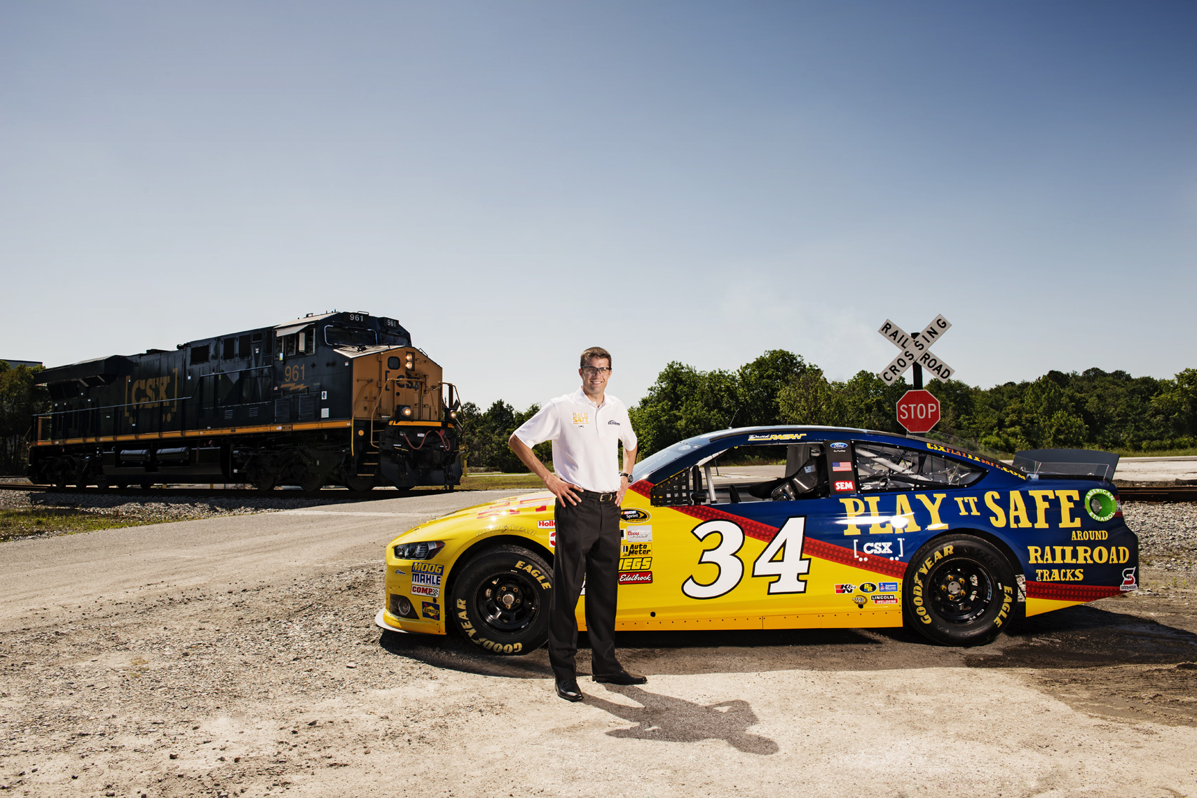 Editorial, Advertising and Corporate Studio and Location Photography Jacksonville, Florida  Corporate Industrial Photography  CSX Nascar