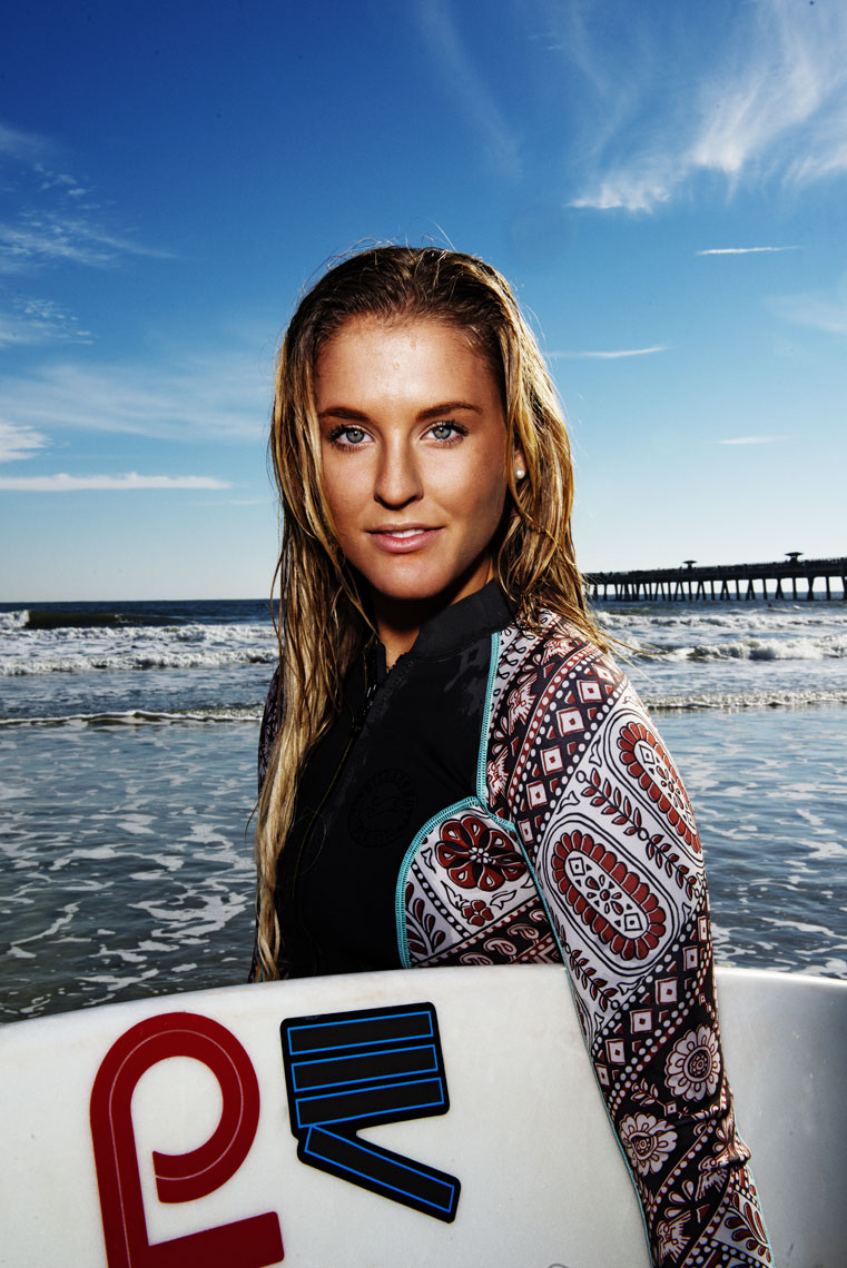 Lifestyle, Editorial, Advertising and Corporate Studio and Location Photography Jacksonville, Florida Surfer Portrait