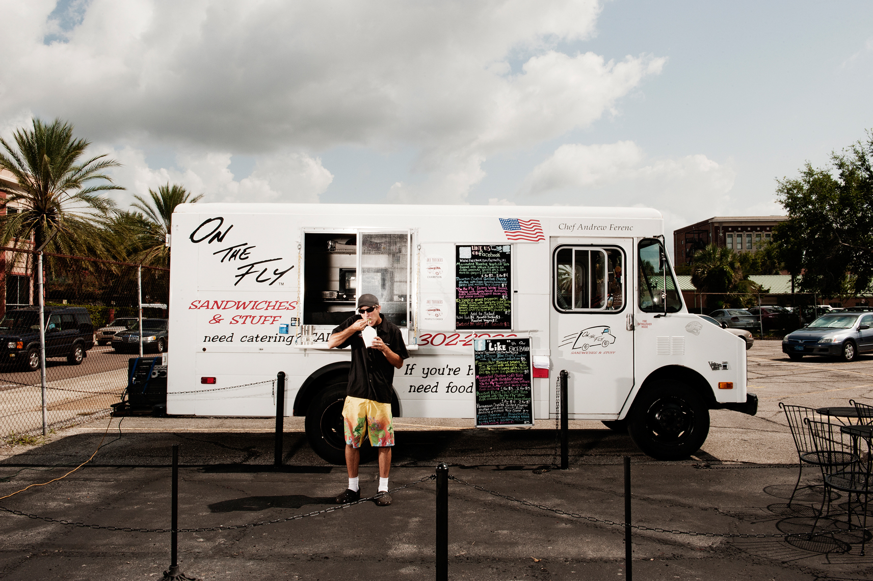Food, Editorial, Advertising and Corporate Studio and Location Photography Jacksonville, Florida Food Truck On the Fly