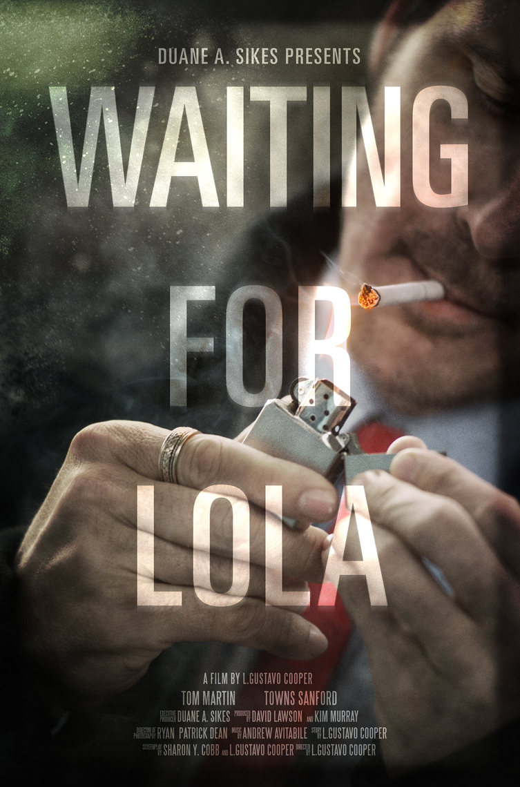 Lifestyle,Editorial, Advertising and Corporate Studio Location Photography Jacksonville, Florida Waiting for Lola Movie Photography Poster, Director L.Gustavo Cooper